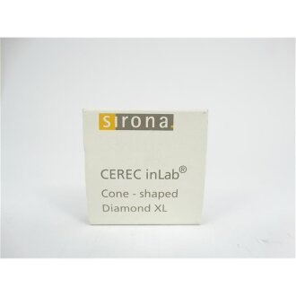 CEREC INLAB CONE-shaped BUR 12 - Diamond XL - Sirona