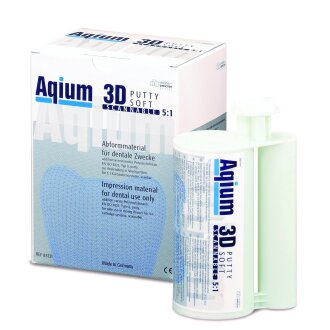Aqium 3D PUTTY SOFT Abformmaterial 2x 380 ml